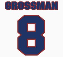 National football player Rex Grossman jersey 8 by imsport