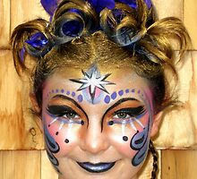 Face Painted Beauty by sherryconley