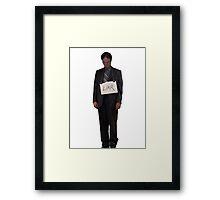 Dwight Schrute - Liar Framed Print