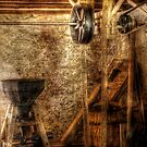 Inside an old mill by Mike  Savad