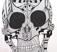 Skull by thedottedline27