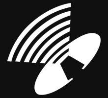 Depeche Mode : Behind The Wheel - Logo - White by Luc Lambert
