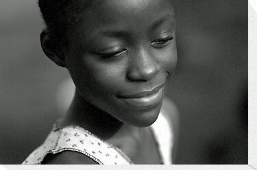 Serenity Smile from Liberia by Anthony Asael