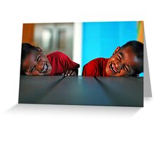 Reflection of Smiles Greeting Card