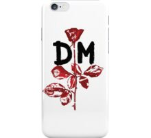 Depeche Mode : Violator DM Paint Black  iPhone Case/Skin