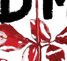 Depeche Mode : Violator DM Paint Black  Sticker