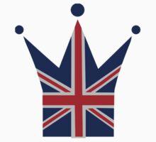 Crown United Kingdom flag by Designzz