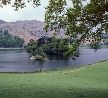 Rydal Water Lake District England 198405200043 by Fred Mitchell