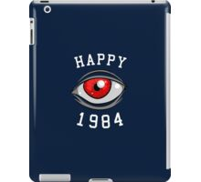 Happy 1984 iPad Case/Skin