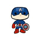 Captain America Sticker by rwang
