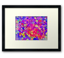 Button Box 01 Framed Print