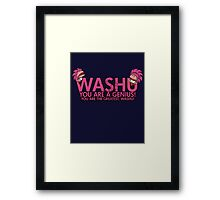 You're a genius, Washu!  Framed Print