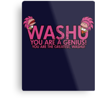 You're a genius, Washu!  Metal Print