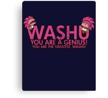 You're a genius, Washu!  Canvas Print