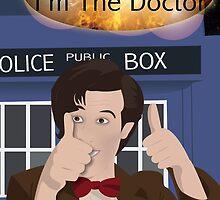Doctor Who - Matt Smith by Amorith