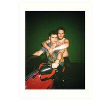 James Franco & Seth Rogan Art Print