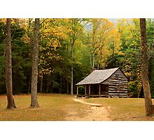 Autumn In The Cove Photographic Print