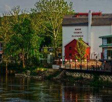 Bucks County Playhouse by Debra Fedchin