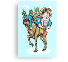 A One Piece Holiday Metal Print