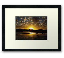 Airley Beach - Sunset ~  Framed Print