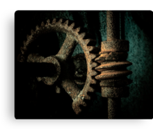Rusted Gear Canvas Print