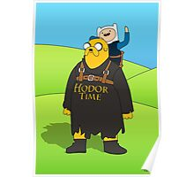Hodor Time Poster