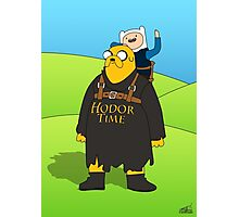 Hodor Time Photographic Print