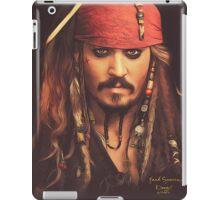 Jack Sparrow | Digital Painting  iPad Case/Skin