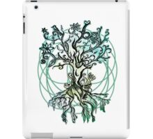 Coloured psychedelic tree iPad Case/Skin