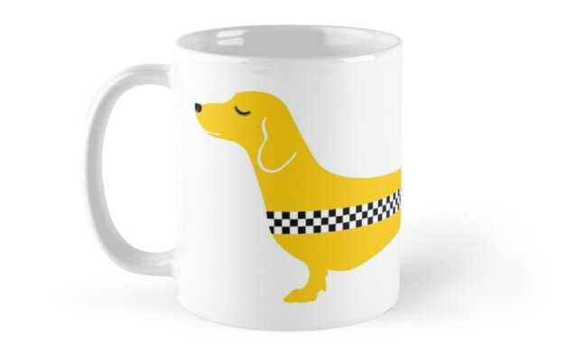 Dachshund Yellow Cab / by TsipiLevin