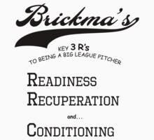 Brickma's Big League Pitcher Key 3 R's - Light by SeenB4Dzigns
