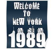 Welcome to New York- Taylor Swift Poster