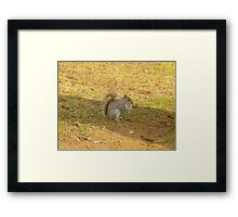 I like fries too Framed Print