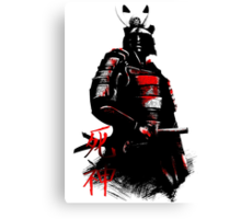 Shinigami Samurai Canvas Print