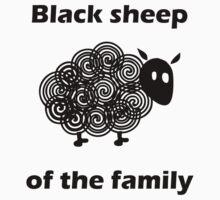 Black sheep of the family by Kurt  Tutschek