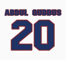 National football player Isa Abdul-Quddus jersey 20 by imsport