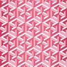Penrose Cube - Pink by VanHogTrio