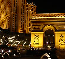 Las Vegas Paris Hotel by Rebecca Smith