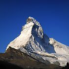 Early morning view at the Matterhorn by Derivatix