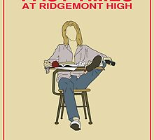 Fast Times at Ridgemont High Movie Poster by FinlayMcNevin