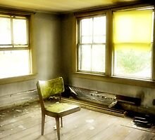 Room with Chair - Diffused, Confused, Disused by Debra Fedchin