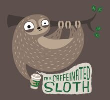 Caffeinated Sloth Kids Clothes