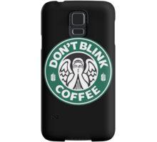 Dont Blink Coffee Samsung Galaxy Case/Skin