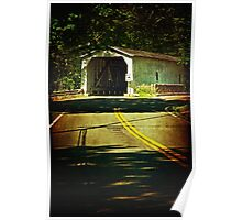 The Green Sergeants Covered Bridge Poster