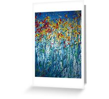 Spring Burst Greeting Card