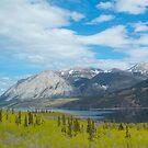 Mountains along the Yukon Trail, BC, Canada. 2012. by johnrf