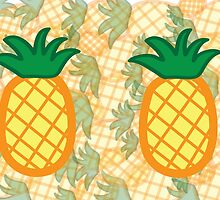 Pineapple Collage Landscape by ouradventure