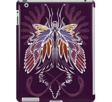Mab the Queen of Fey (bold white and pale purple) iPad Case/Skin