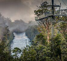 Tahune Air Walk Tasmania by Russell Charters