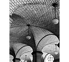 NYC Subway Station Ceiling Photographic Print
